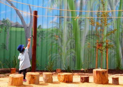 Adventure abounds in our stunning nature playscape