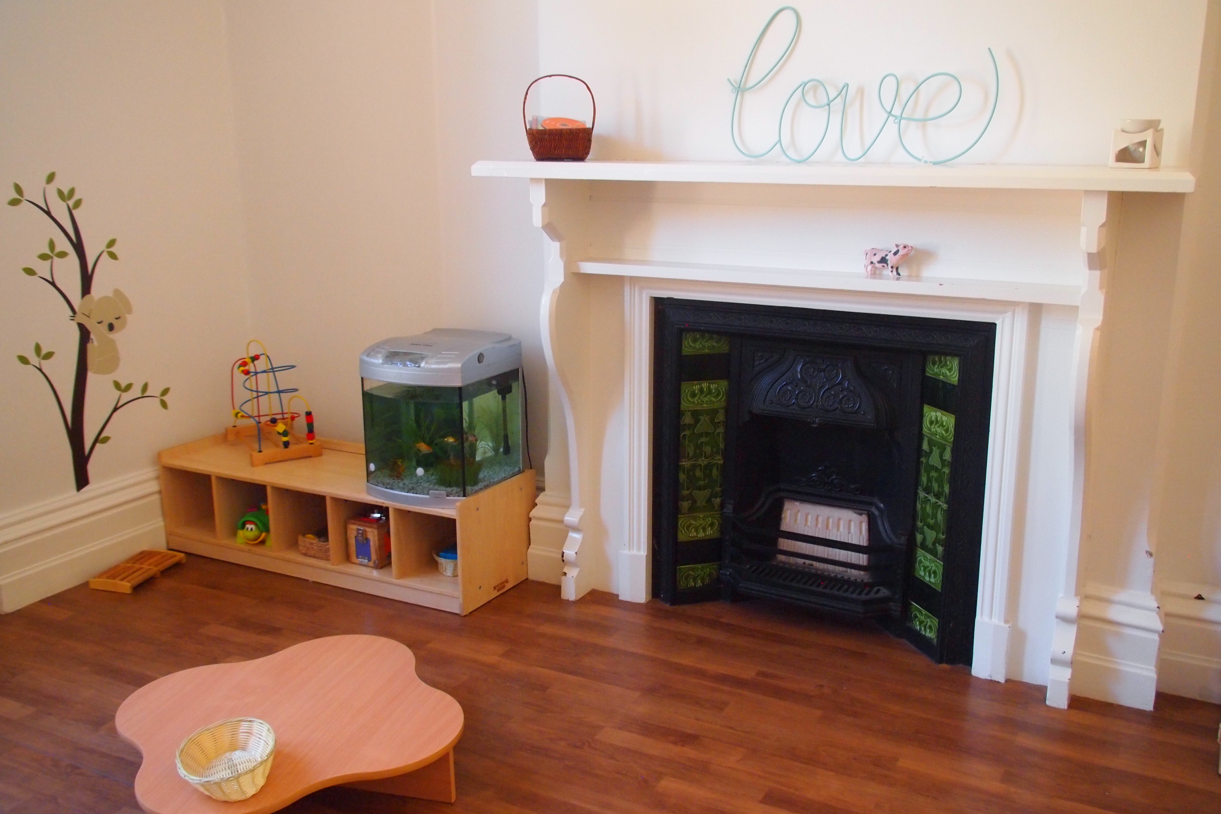 Cosy classrooms for our beautiful babies
