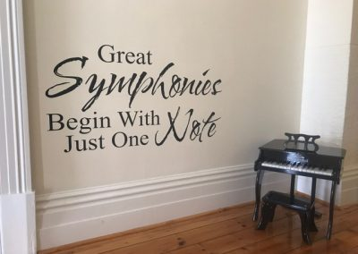 Great symphonies begin with one note