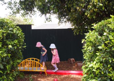 Engaging in our garden