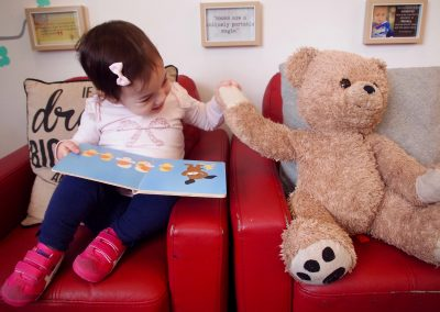 Inspiring toddlers in our 'Nido' Playgroup
