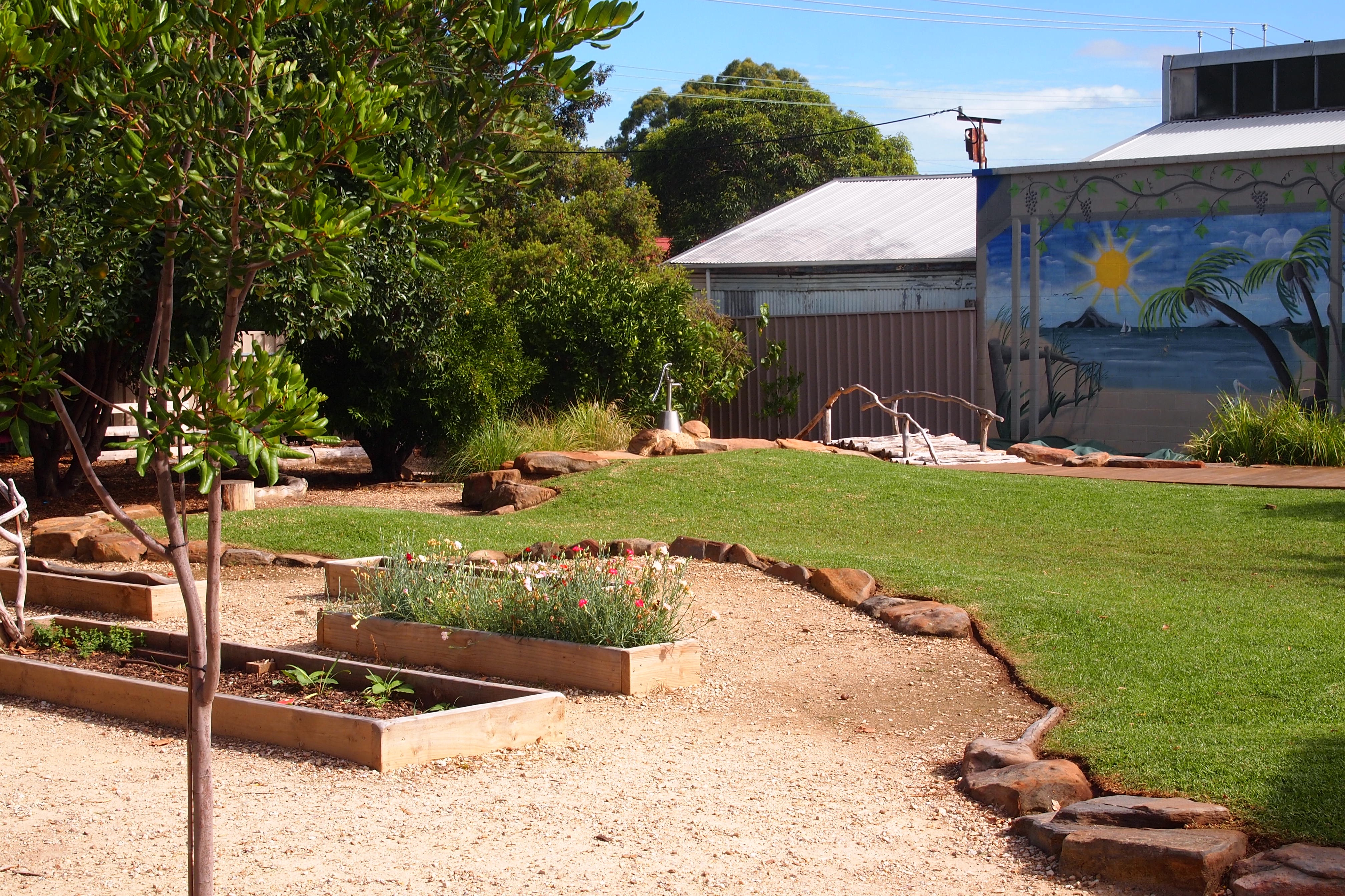 Our stunning nature playscape