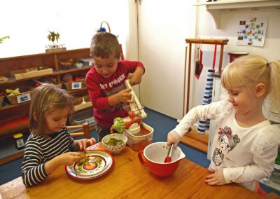 Our Practical Life experiences empower children